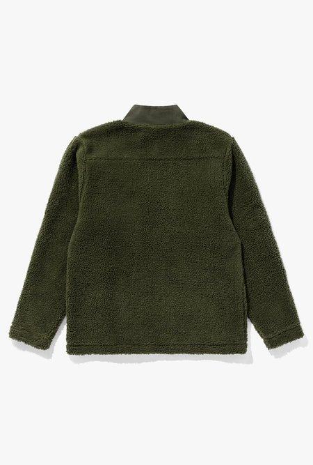 Banks Journal Grand Deluxe Fleece - Olive Military