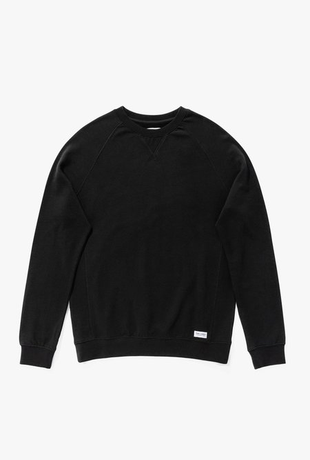 Banks Journal Hunter Transeasonal Fleece sweater - Dirty Black