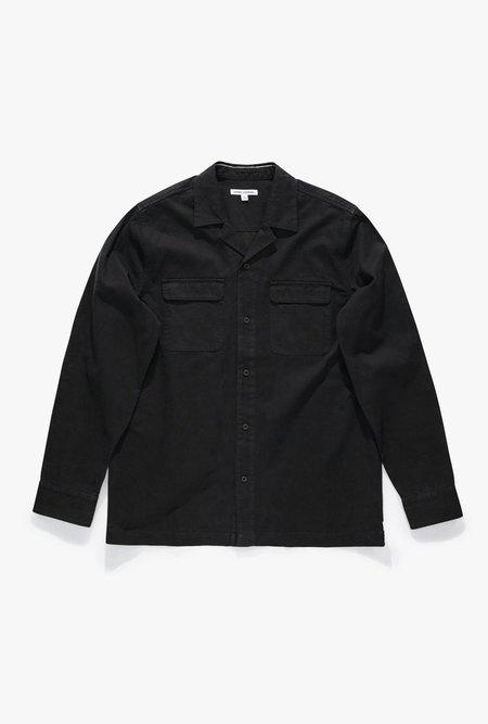 Banks Journal Undisputed Long Sleeve Shirt - Dirty Black