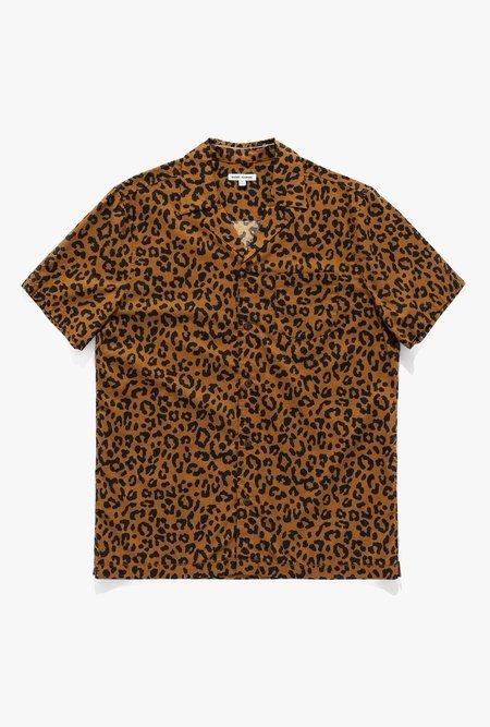 Banks Journal Wilder Short Sleeve Shirt - Leopard Print