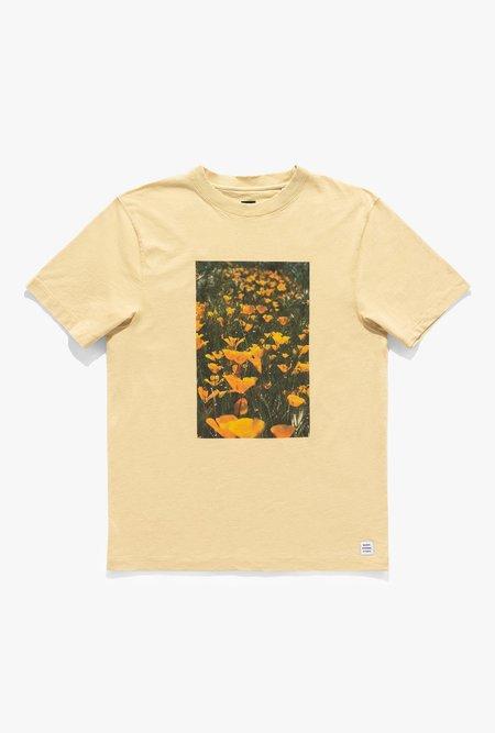 Banks Journal Zak Bush Flowers Tee - yellow