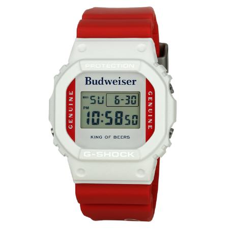 G-Shock X Budweiser watch - Red/White