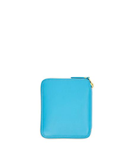 Comme des Garçons Leather Wallet - Blue