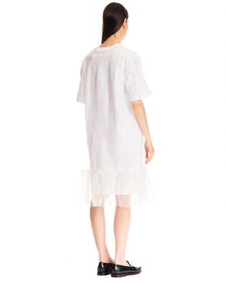 MSGM Tulle Dress - White