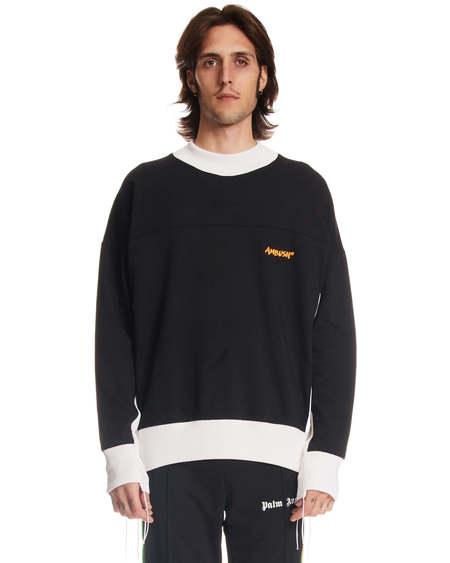 Ambush Logo Crewneck Sweatshirt - black