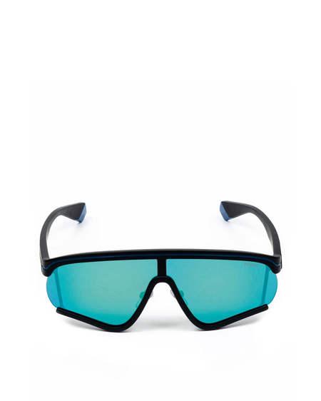 MSGM Logo Mask Glasses Sunglasses - Black