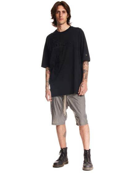 Rick Owens Short Sleeved T-Shirt - Black