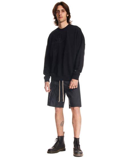 Rick Owens logo Sweatshirt - Black