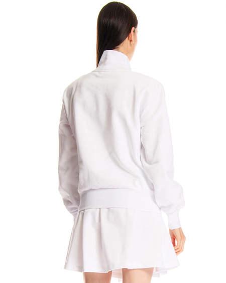 GCDS Sweatshirt with Logo - White