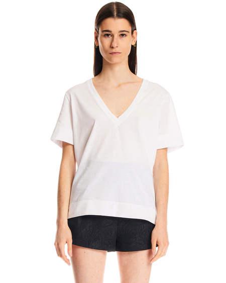 GANNI logo T-shirt - White