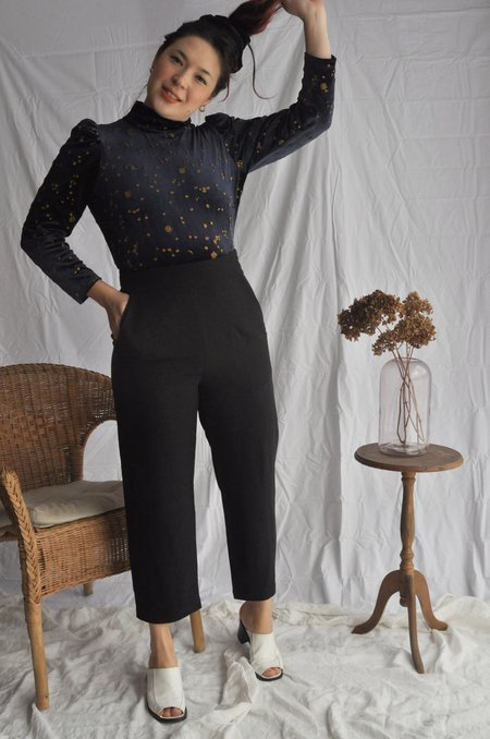 Eve Gravel Sparrow Pants - Black
