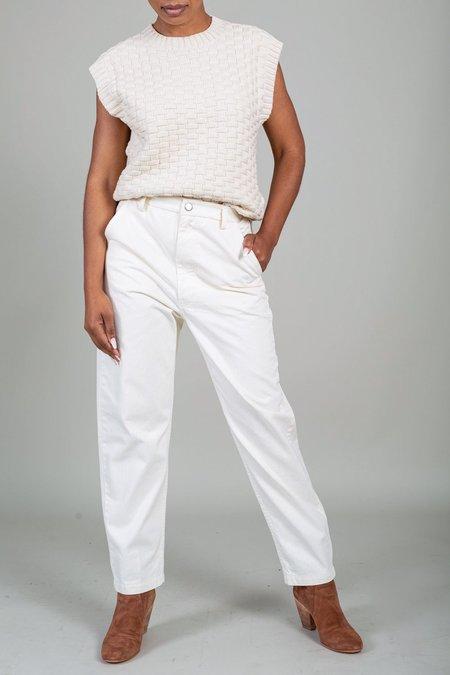 Rachel Comey Pseudo Pant - White Herringbone Chino