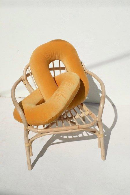 Annie Axtell Pillow Links - Marigold
