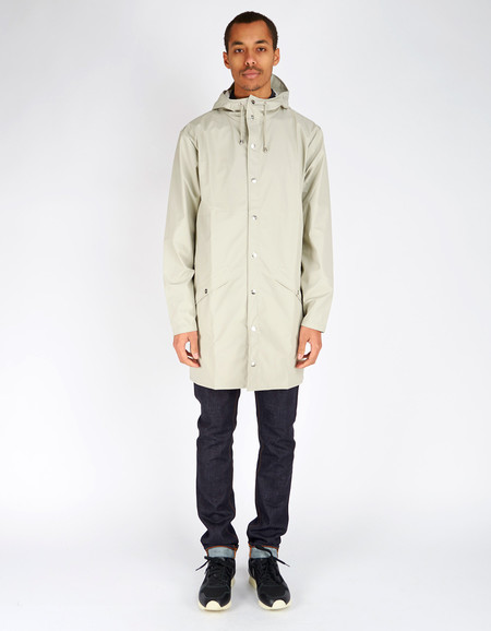 Unisex Rains Long Jacket Moon