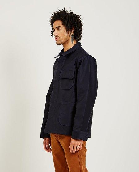 Freenote Cloth CC-1 Chore Coat - navy