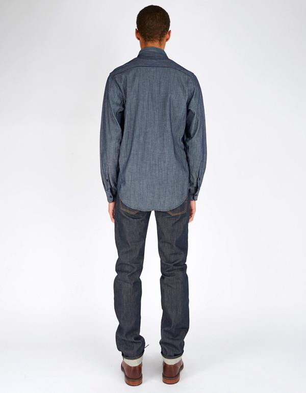 Men's Tellason Striped Cone Mills Vintage Shirt