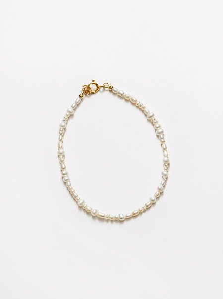 Wolf Circus Pearl Anklet