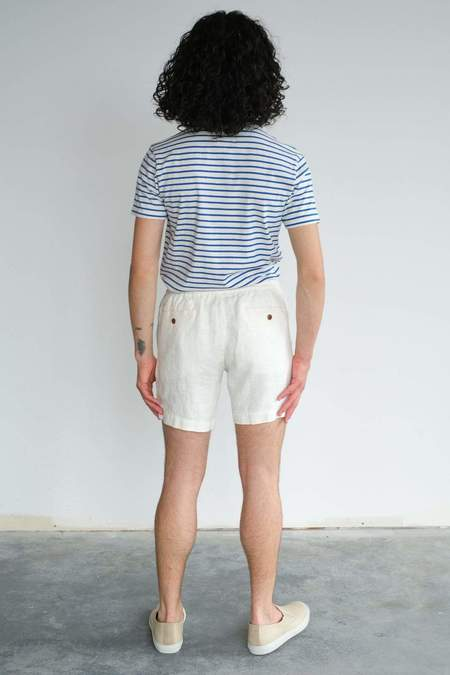 Far Afield House Shorts - White Sand