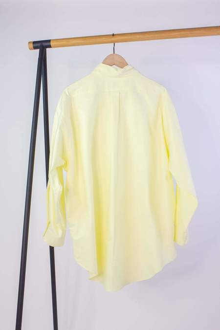 Rachel Comey Isa Shirt - Pale Yellow