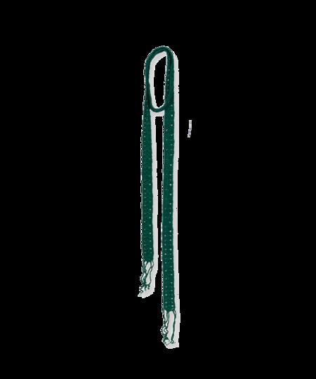 Tela Crochet mini scarf - Green