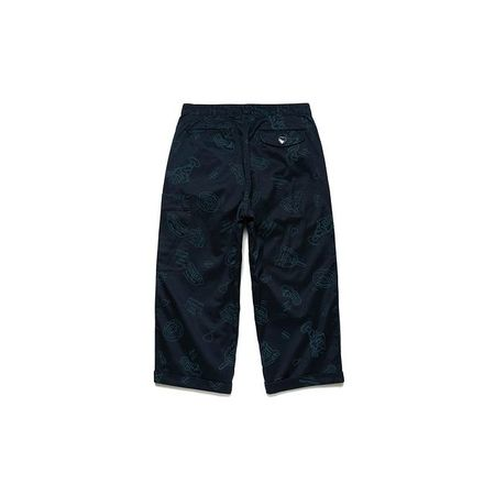 Human Made Cropped Pants - Navy
