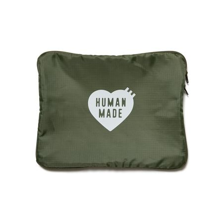 Human Made L Travel Pouch - Olive Drab