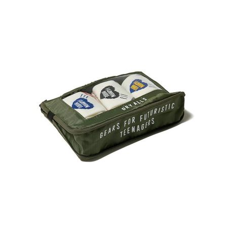Human Made M Travel Pouch - Olive Drab