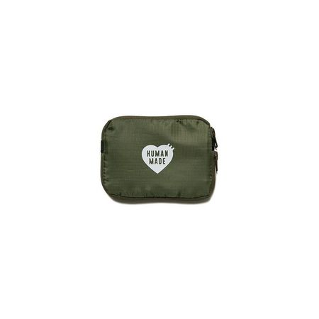 Human Made S Travel Pouch - Olive Drab