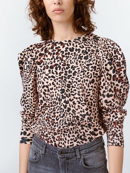Munthe Patiala Top - Leopard Print