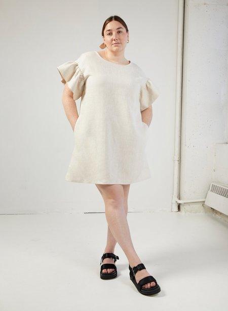 Eliza Faulkner Raffi Dress - Raw Linen