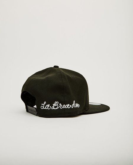 New Era La Brea Ave Chainstitch Dodgers Snap Back hat - Black