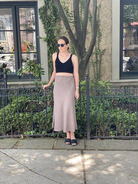 CP Shades Tanya Linen Bias Skirt