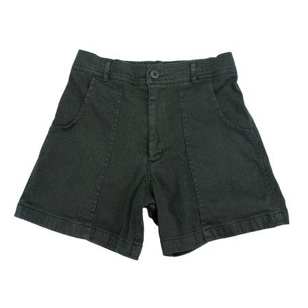 unisex Jungmaven Venice Shorts - Forest Green