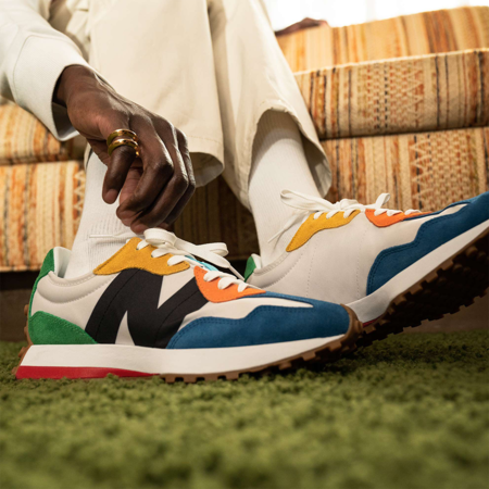 New Balance 327 Men MS327PBA sneakers - Multicolor