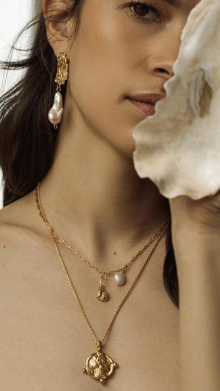 Pamela Card Athena's Allegory Necklace