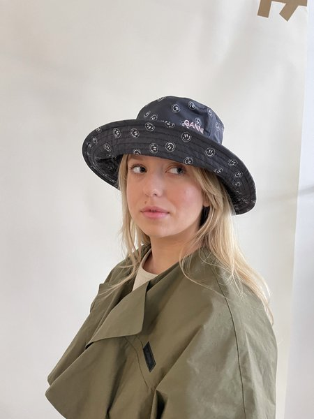 Ganni Bucket Hat - Phantom