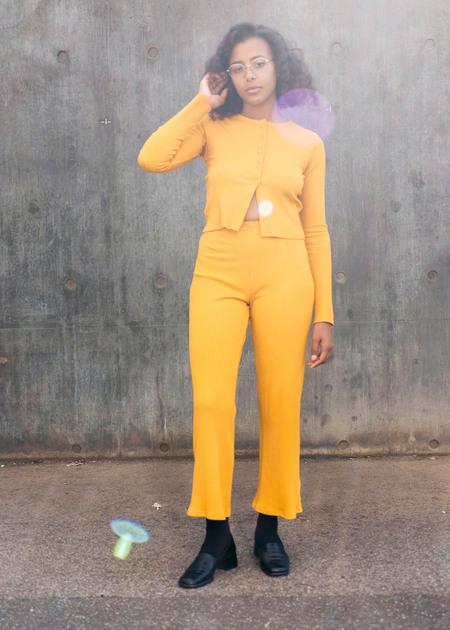 FME Apparel Dance Legging - Saffron