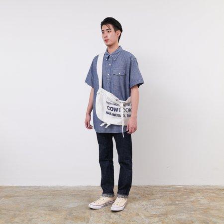 COW BOOKS News Boy Bag - White