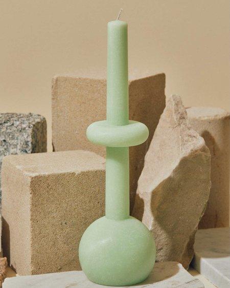 Geo Sphere Candles - Pastel Green