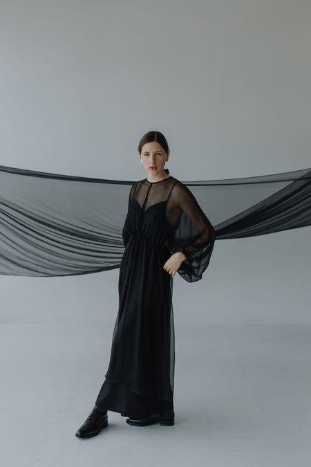 Mina Bud Dress - Black