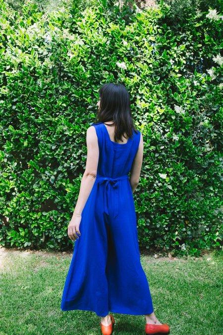 Myrtle Blythe Jumpsuit - Cobalt