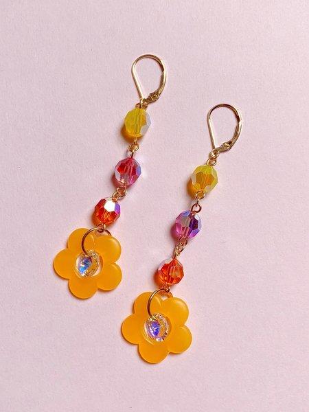 SJO Jewelry Dream Earrings - Orange