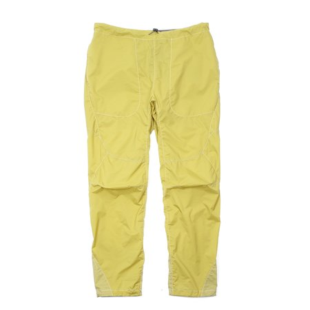 And Wander Weave Windy Pants - Yellow