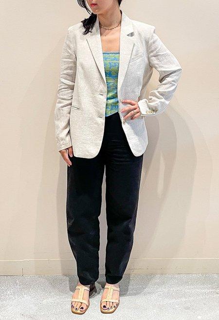 Nicole Kwon Concept Store Linen Blazer