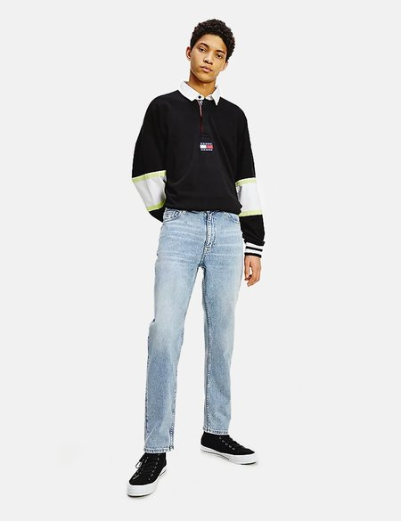 Tommy Hilfiger Dad Tapered Faded Jeans - Faded Blue