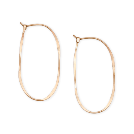 Fail Jewelry Oval Hoops