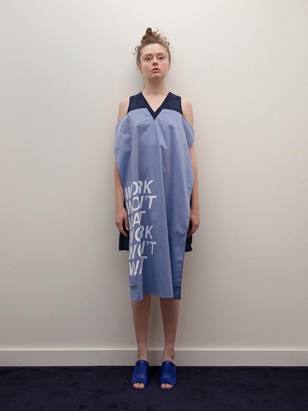 Ffixxed Panel Dress