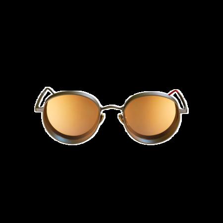 Unisex VYSEN Eyewear Noah N-5 Sunglasses - Military Dark Green
