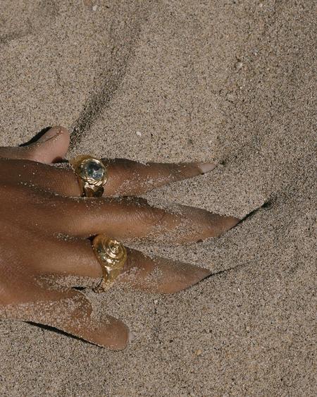 Pamela Love Seashell Ring - Gold
