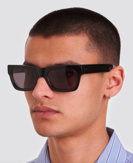 Unisex Sun Buddies Greta Sunglasses - Black